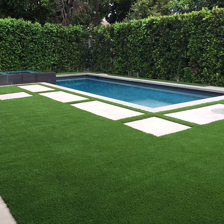 Roof Landscaping 10mm Synthetic Lawn Grass Artificial Grass Turf