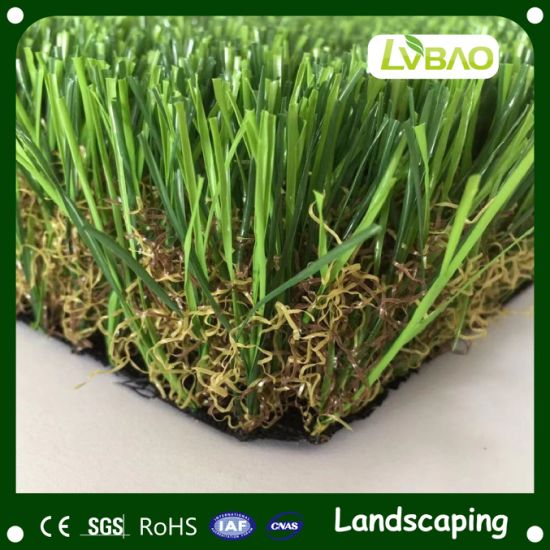 Anti-UV Comfortable Fire Classification E Grade Waterproof Fake Pet Landscaping High Quality Garden Landscape Artificial Grass