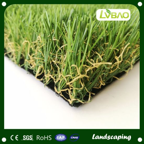 Anti-Fire Small Mat Landscaping Yard Grass Monofilament Synthetic Turf Artificial Turf