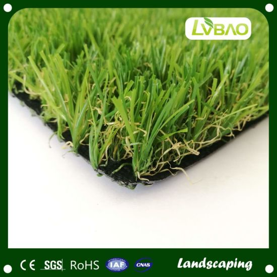 Non Rubber Infilled Landscaping Artificial Turf Grass for Playing