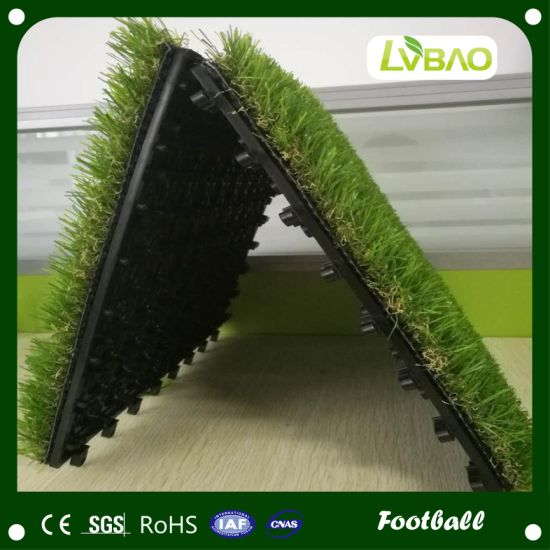 Non Infill Multi-Color Landscape Artificial Grass for Commercial Use