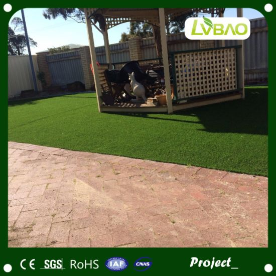 Synthetic Turf Lawn Natural-Looking Multipurpose Yard Landscaping Small Mat Anti-Fire Artificial Turf