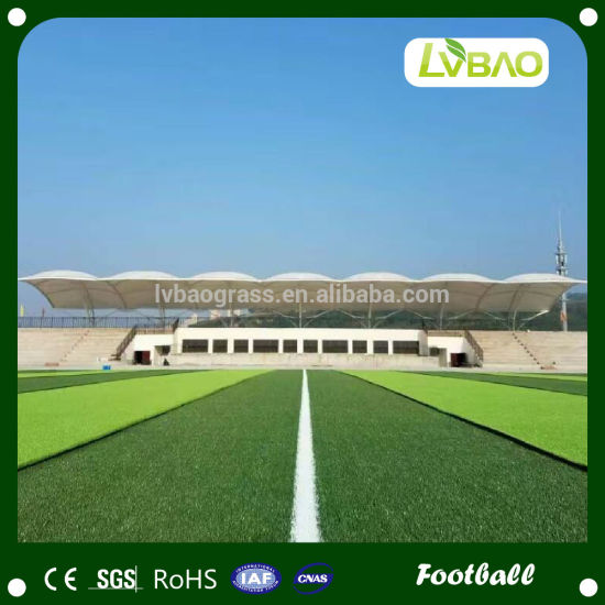 50mm Natural-Looking Straight Wire Football Artificial Grass