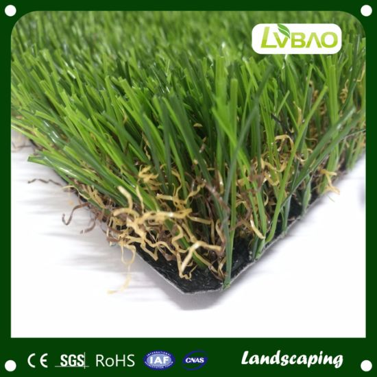 Anti-UV Synthetic Turf Artificial Grass 38mm Pile